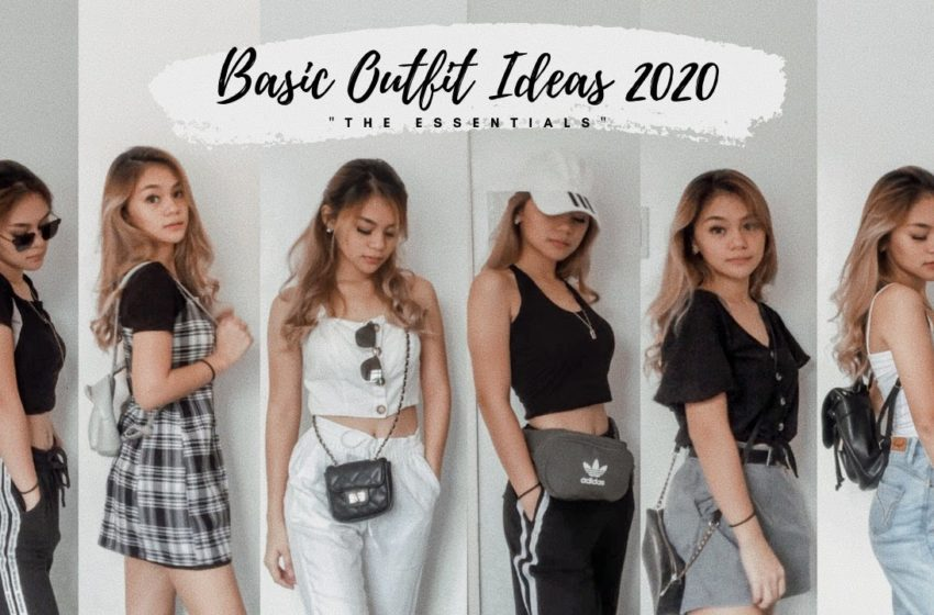 BASIC OUTFIT IDEAS 2020 PHILIPPINES || Michelle G.