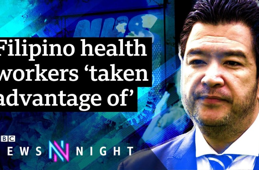 Why are so many Filipino health workers dying of Covid19? – BBC Newsnight
