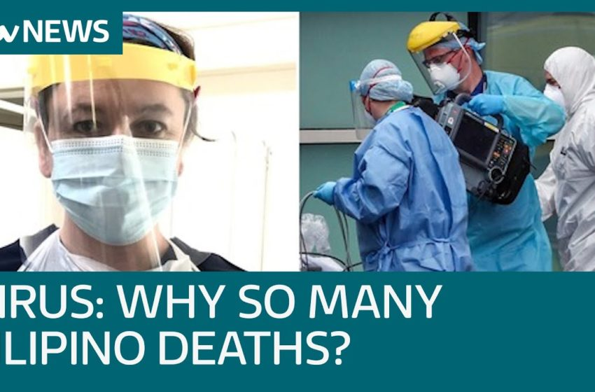 Why are a disproportionate number of Filipino healthcare workers dying? | ITV News