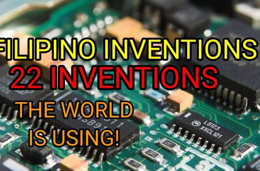 22 PINOY INVENTIONS na Ginagamit Ng Buong Mundo || Lists Of Filipino Inventions