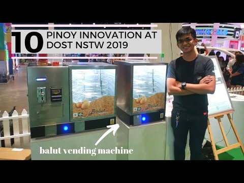 TOP 10 PINOY INNOVATION FEATURED IN DOST NSTW 2019
