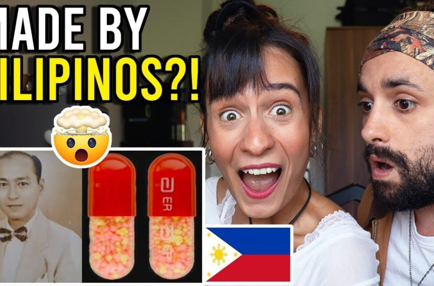 TOP 10 FILIPINO INVENTIONS you DIDN'T KNOW about! – This is UNBELIEVABLE!! Philippines Reaction