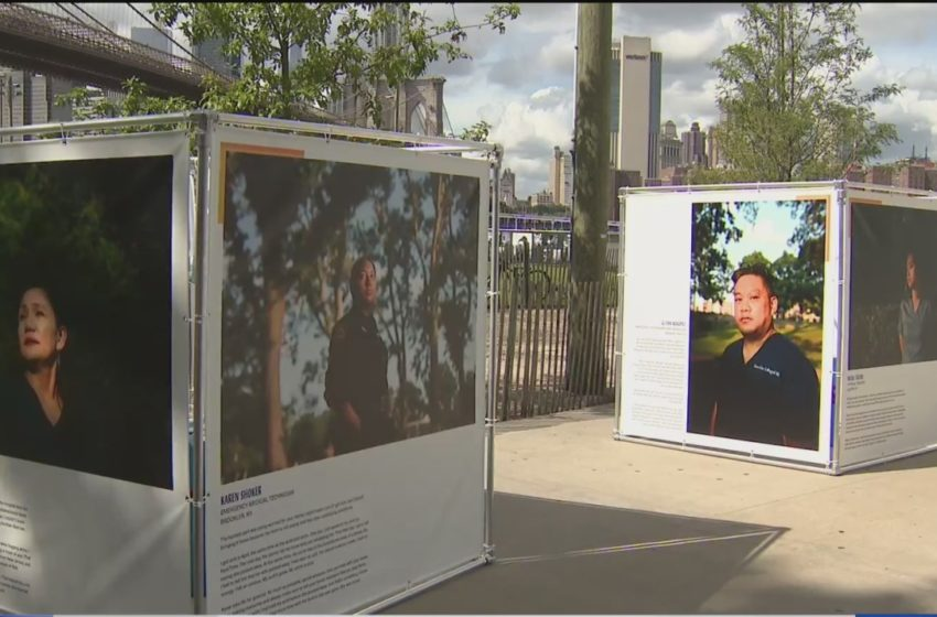 Photo exhibit honors Filipino front-line health care workers