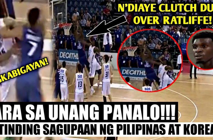 NAGKABIGAYAN! MATINDING SAGUPAAN NG PILIPINAS AT KOREA! Mighty Sports PH vs Seoul Samsung Thunders